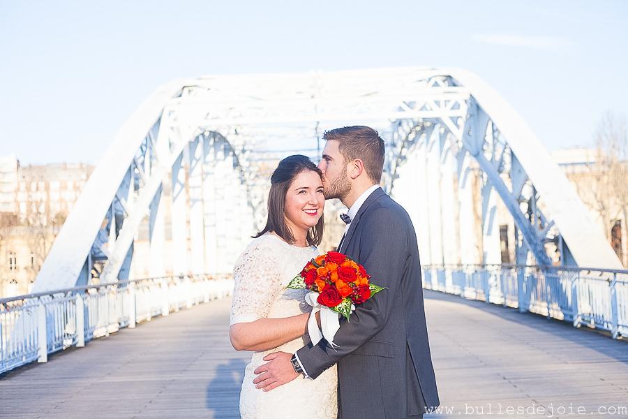 Mariage civil | Séance photo romantique et fun | Bulles de Joie Photographie, photographe Paris
