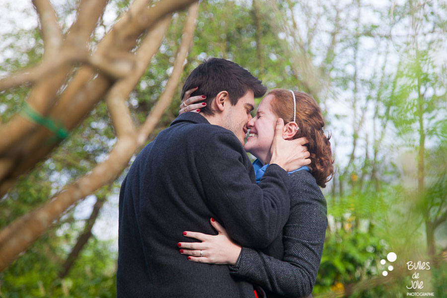 Proposal in Monet Garden, Paris