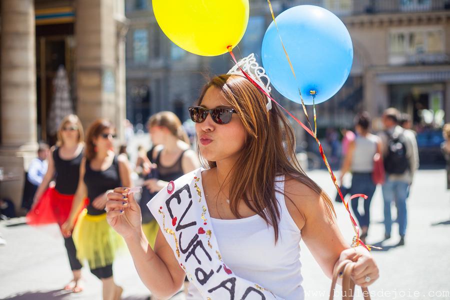 EVJF à Paris aux couleurs de la colombie