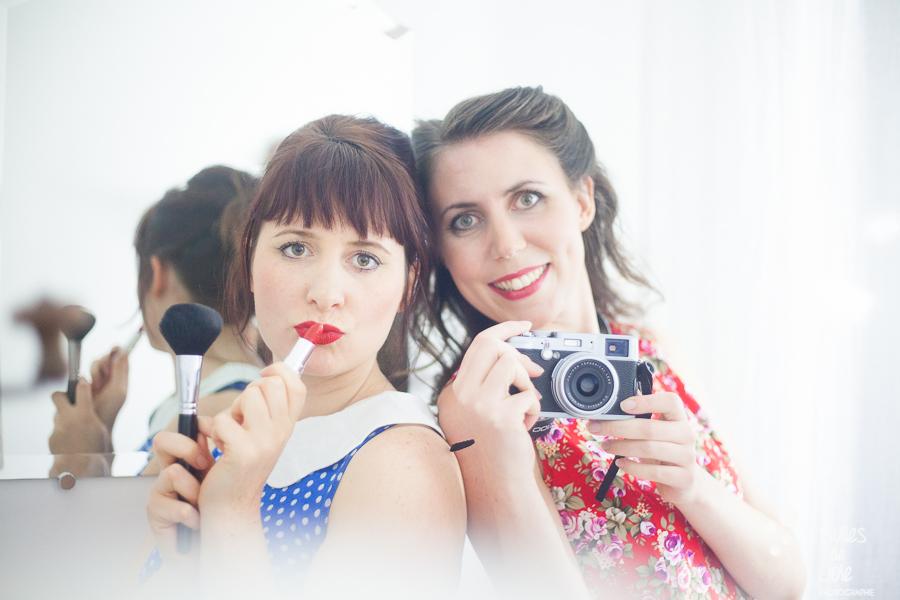 Maquilleuse et photographe pour évènement entre copines