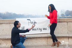 Popping the question   By Bulles de Joie, paris surprise propoal photographer   See more at