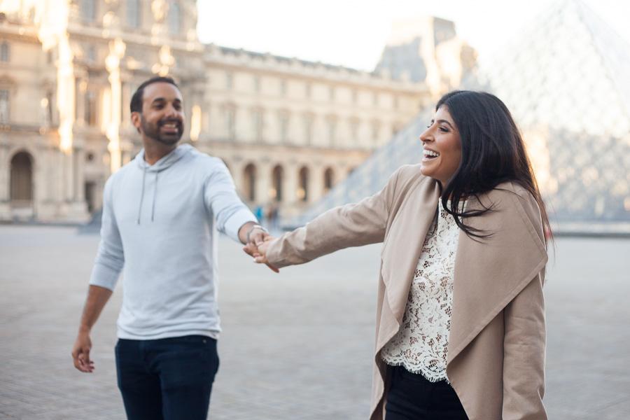 Séance photo couple à Paris - Shooting Day