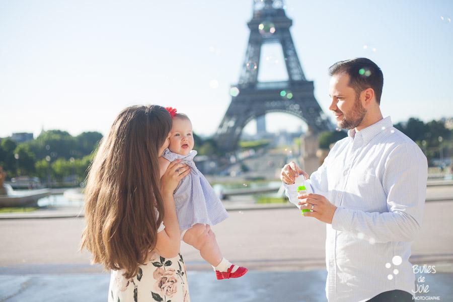 Paris Family Photoshoot With A Toddler Bulles De Joie