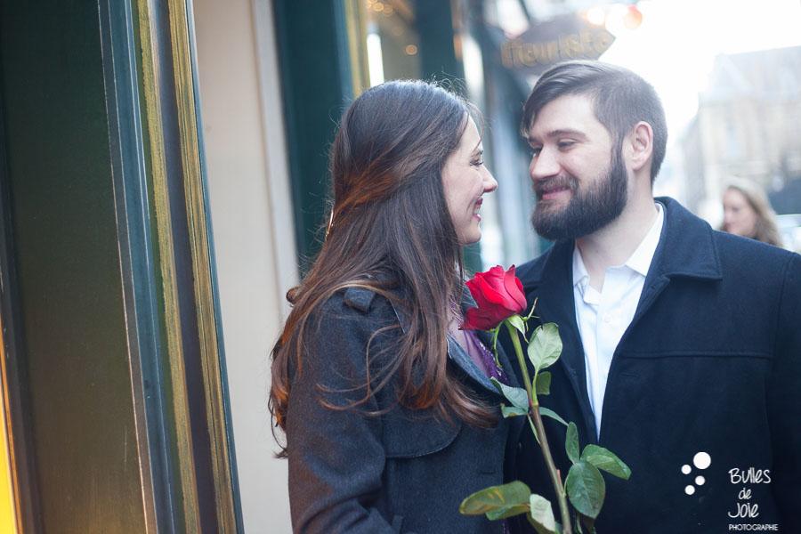 Valentine's Day photoshoot in Paris - by Bulles de Joie, paris professional photographer