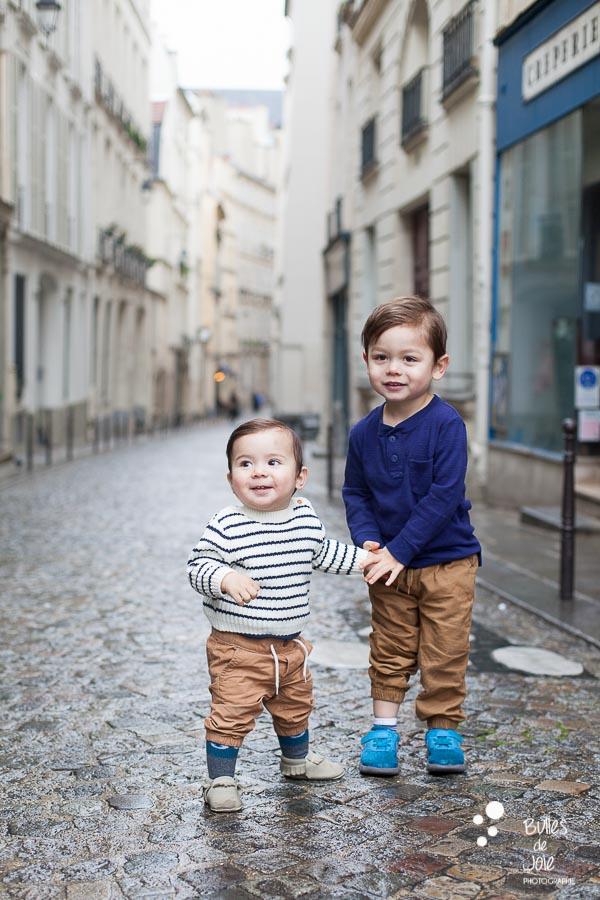 Photos de famille à Paris 6e - proche Jardin du Luxembourg