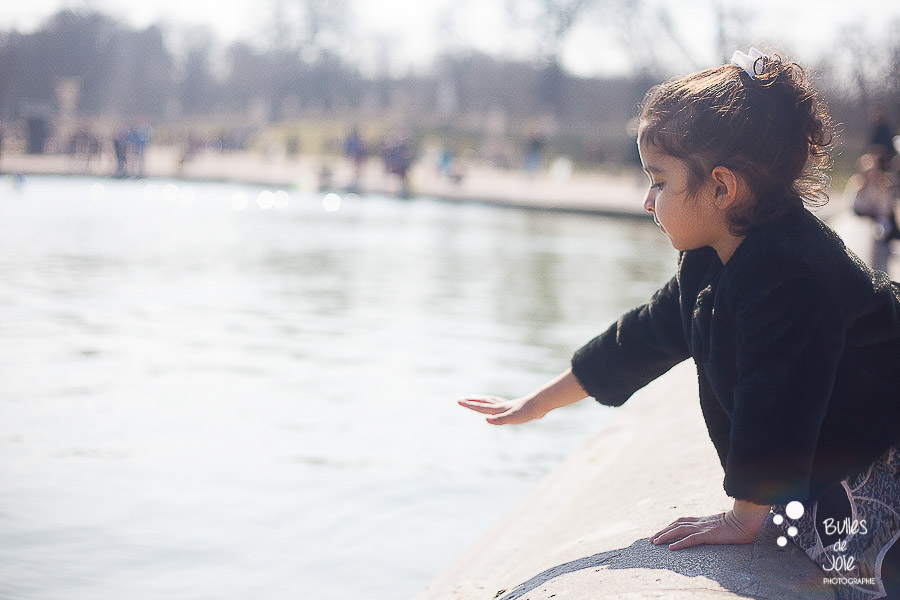 Shooting photo enfant Jardin du Luxembourg