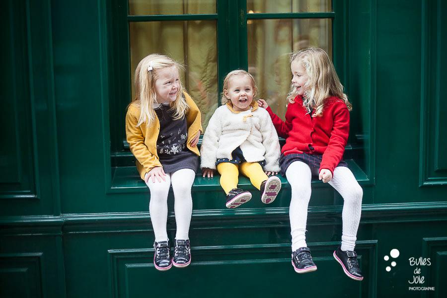 Séance photo entre soeurs