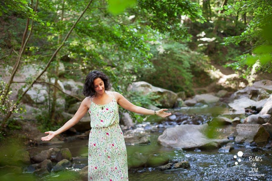 Séance portrait de femme entrepreneure naturopathe