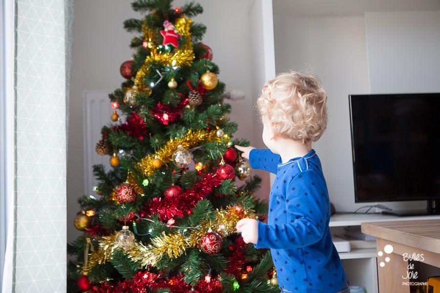 Séance photo ambiance Noël