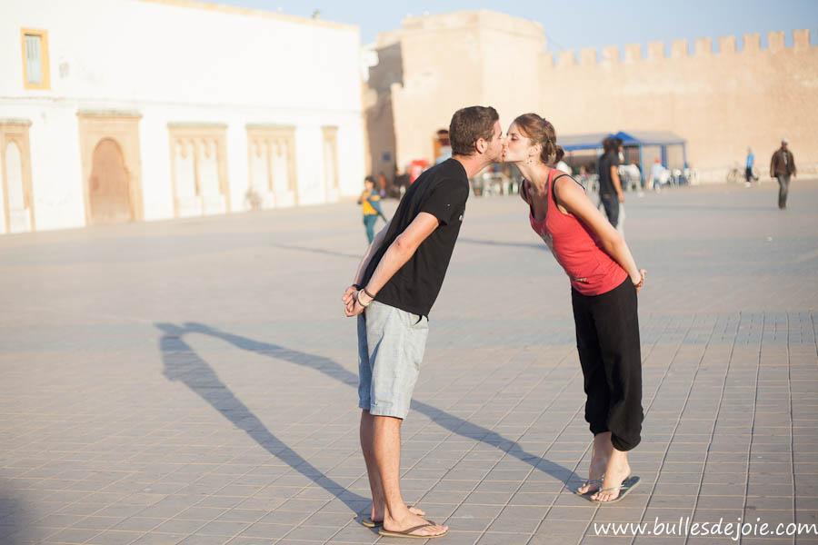 Seance photo romantique Maroc