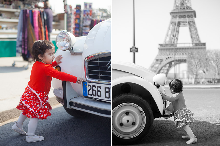 Candid kid portrait | Family photoshoot Paris | Bulles de Joie