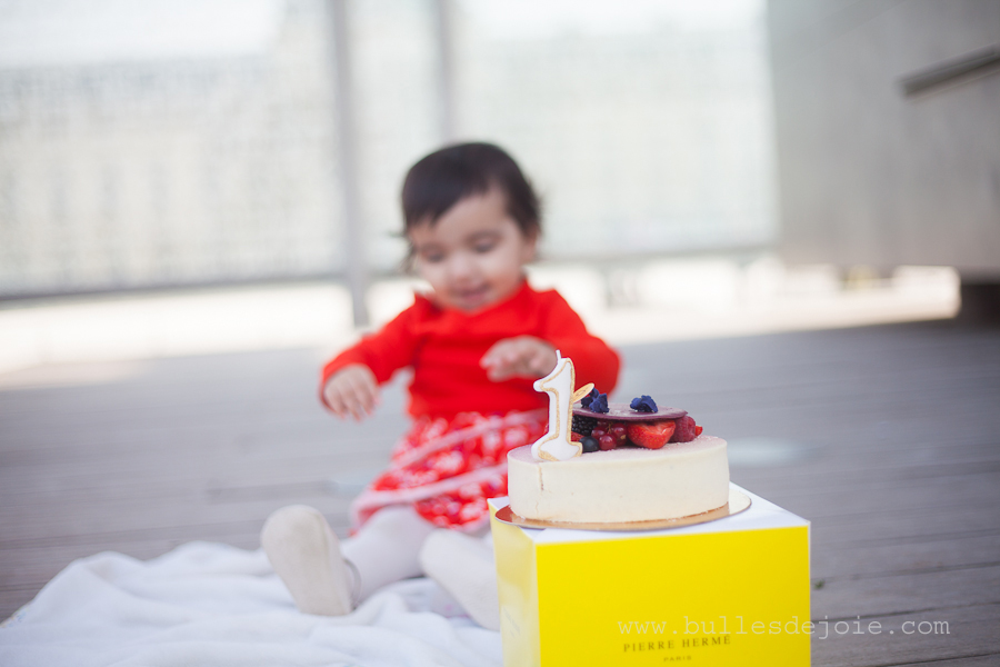 Baby shoot Paris | 1-year birthday | Bulles de Joie