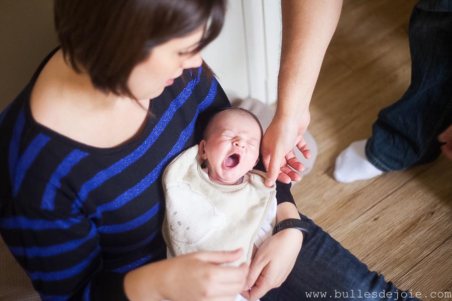 Séance photo nouveau-né à domicile | Bulles de Joie Photographie, photographe Paris