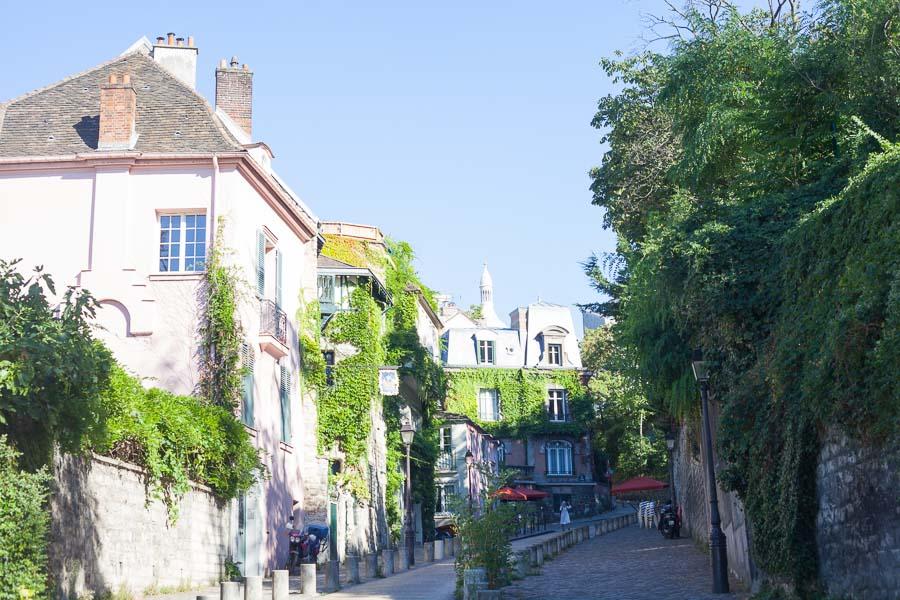 Elopement wedding photographs paris | Montmartre