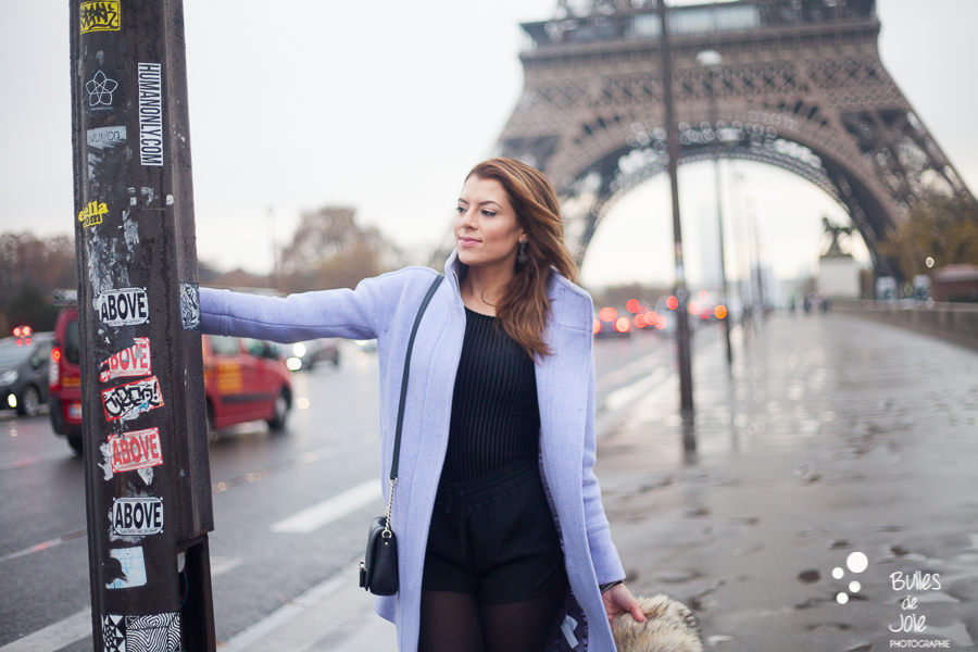 Glam shoot in Paris | Glamorous portrait by Bulles de Joie photographer Happy People, see more at https://www.bullesdejoie.net/2016/12/05/glamorous-portrait-paris/