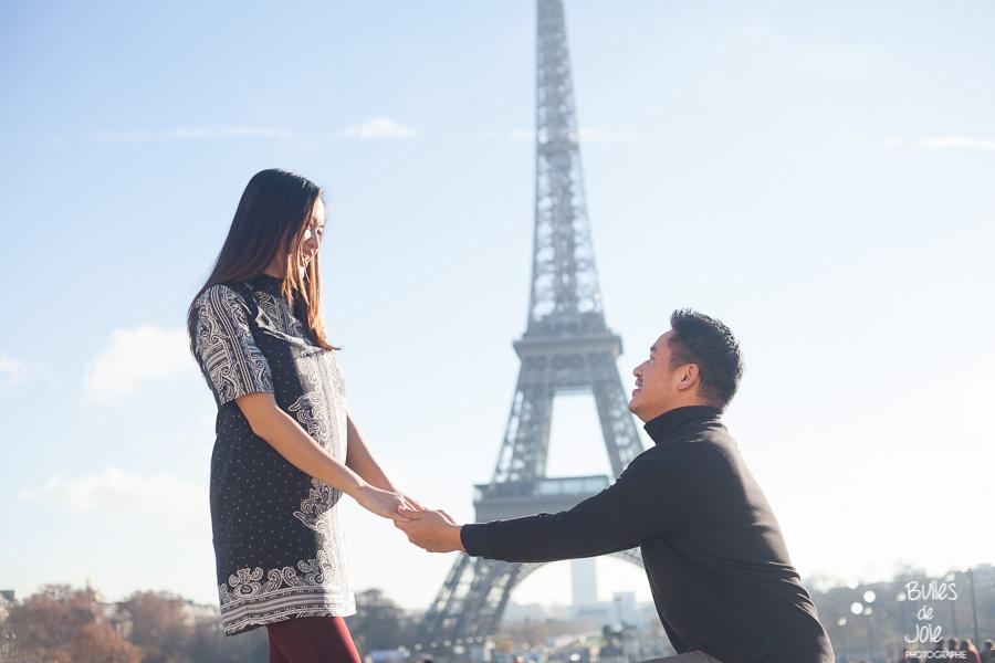 proposal photographer paris | Bulles de Joie
