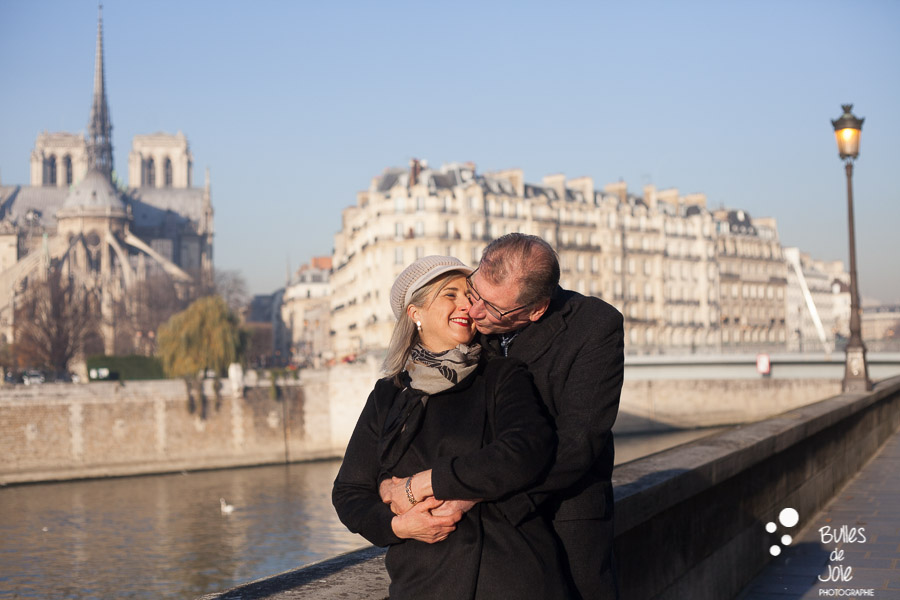 Paris photo session by Bulles de Joie: 40th wedding anniversary. See more at: