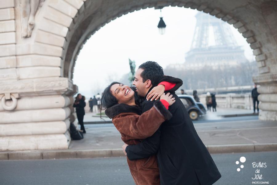 Demande en mariage surprise Bir Hakeim | Photographe couple Paris | En voir plus :