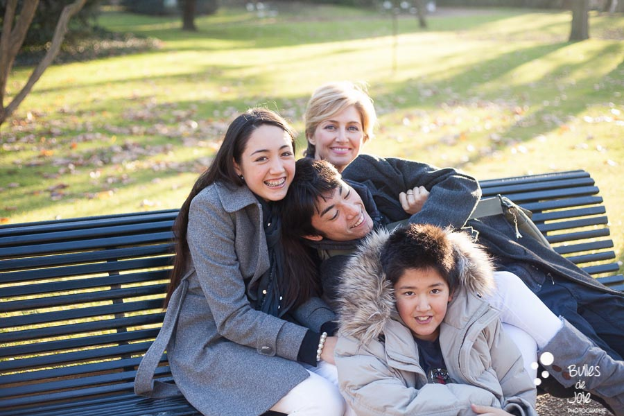 Family portrait session: Paris, France. Family professionnal photographer Bulles de Joie. See more at: