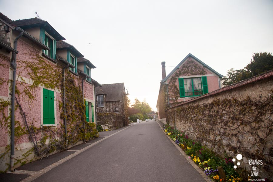 Village of Monet, Giverny, France. More photos at: https://www.bullesdejoie.net/2017/04/25/romantic-proposal-monets-garden-giverny-france/