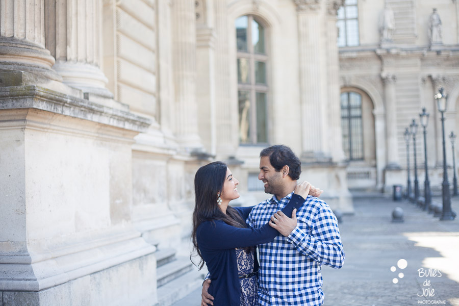 Portrait illustrating the blog post created by Bulles De Joie, professional photographer in Paris on the blog post: photos for couples in Paris. More photos: