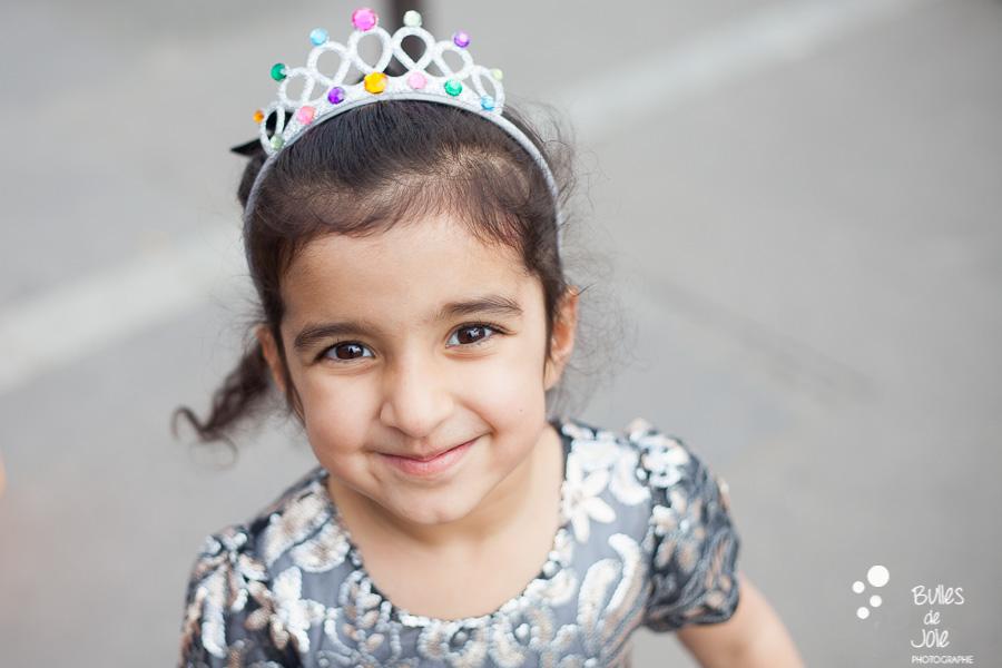 Portrait of a little princess. Captured by the professional photographer Bulles de Joie. More photos: