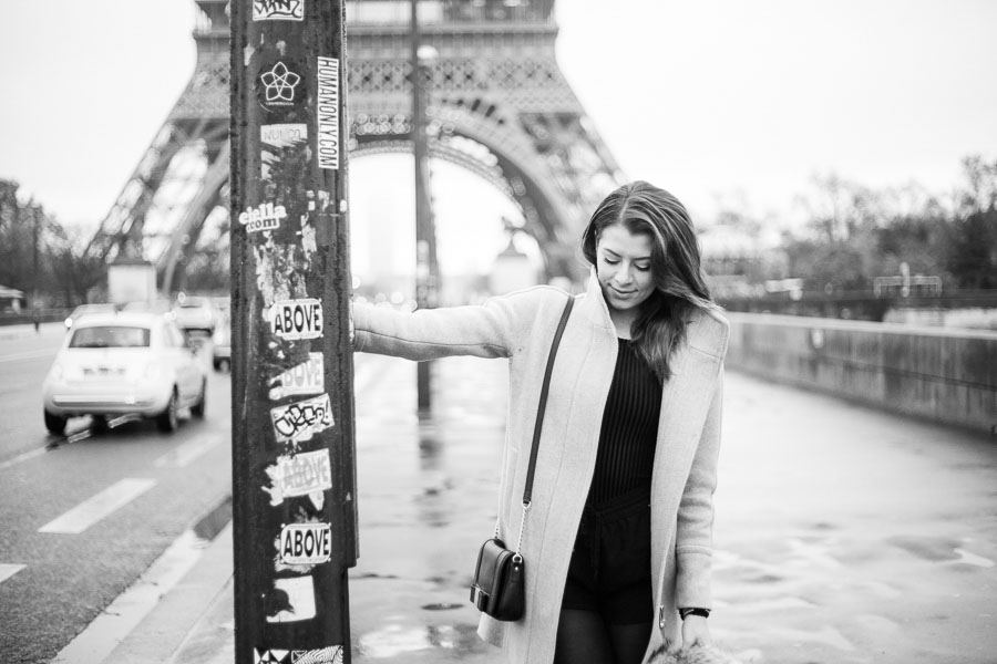 Paris solo portrait photo session.