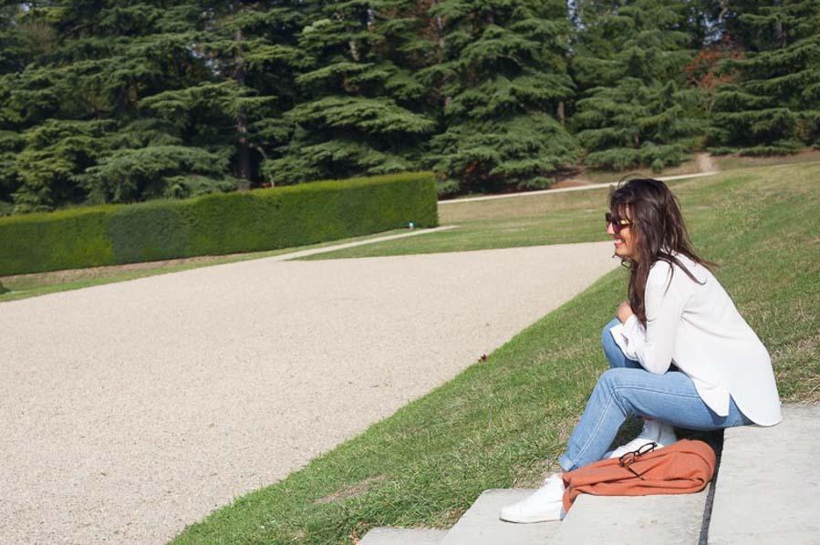 Portrait session in Paris - Parc de Sceaux - Captured by the paris photographer: Bulles de Joie