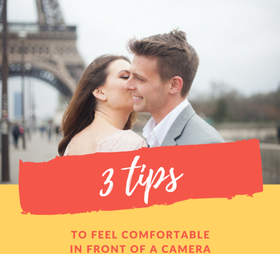 How to feel comfortable in front of the camera? 3 tips given by Bulles de Joie, photographer of Happy People in Paris.