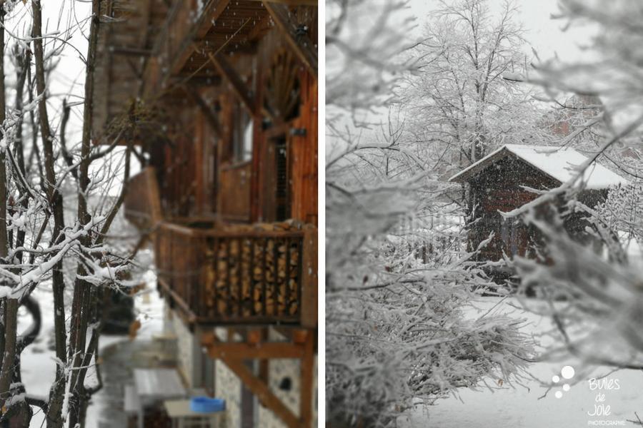 Vacances à la montagne dans un châlet à Samoens. Photo prise par Bulles de Joie. Plus de photos :