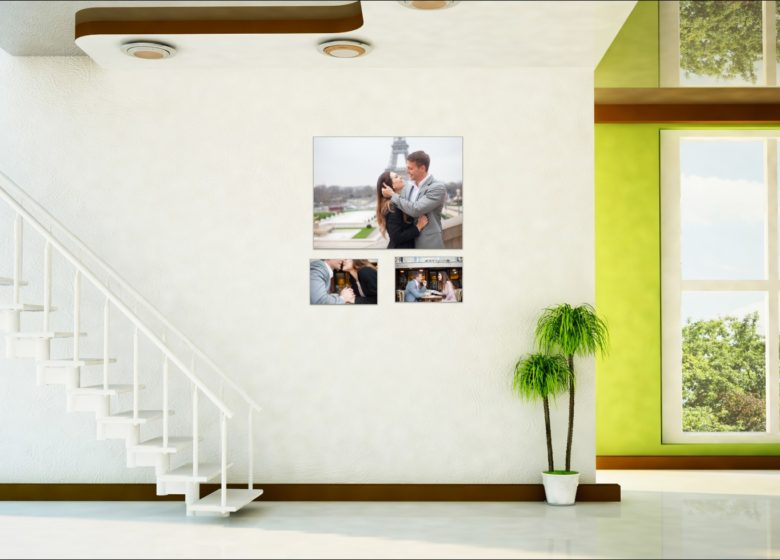 How to give life to your digital photos? Wall art print by Bulles de Joie, engagement photographer in Paris