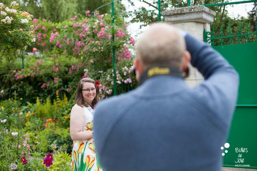Proposal & engagement photo session, Giverny engagement photographer