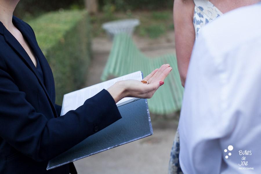 Intimate vows renewal in Paris, France