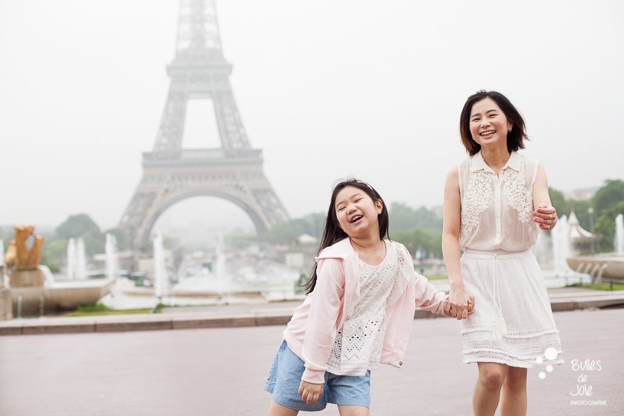 Recommanded locations for a family photoshoot in Paris on a rainy day