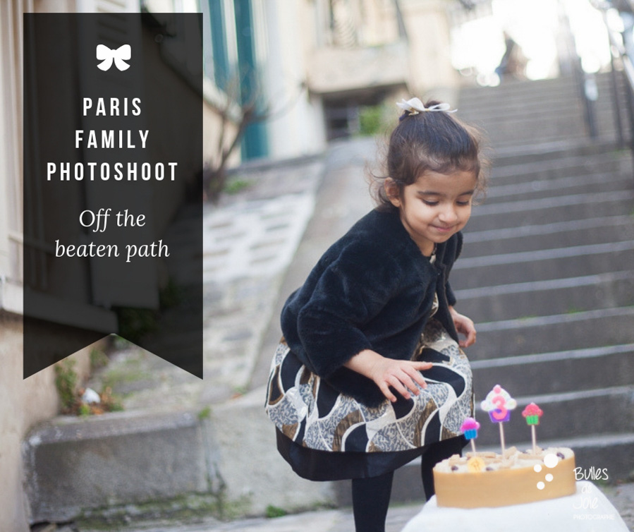 Paris family photo session in Montmartre