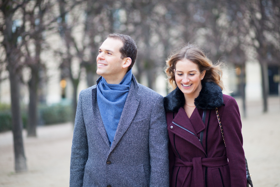 Paris engagement photoshoot - by Bulles de Joie Photography
