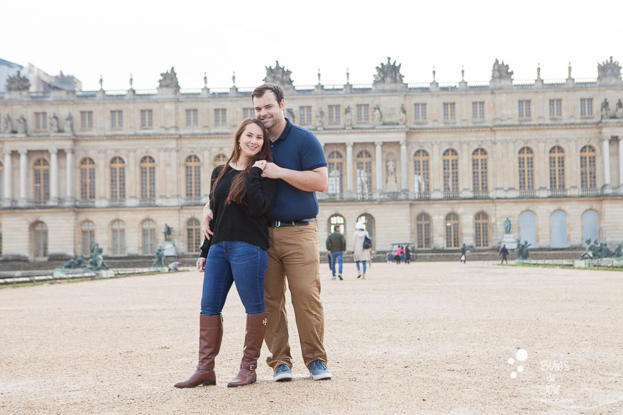 Versailles Gardens couple photoshoot