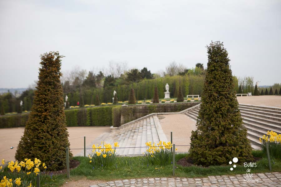 Beautiful scenery for a surprise proposal: Versailles Gardens