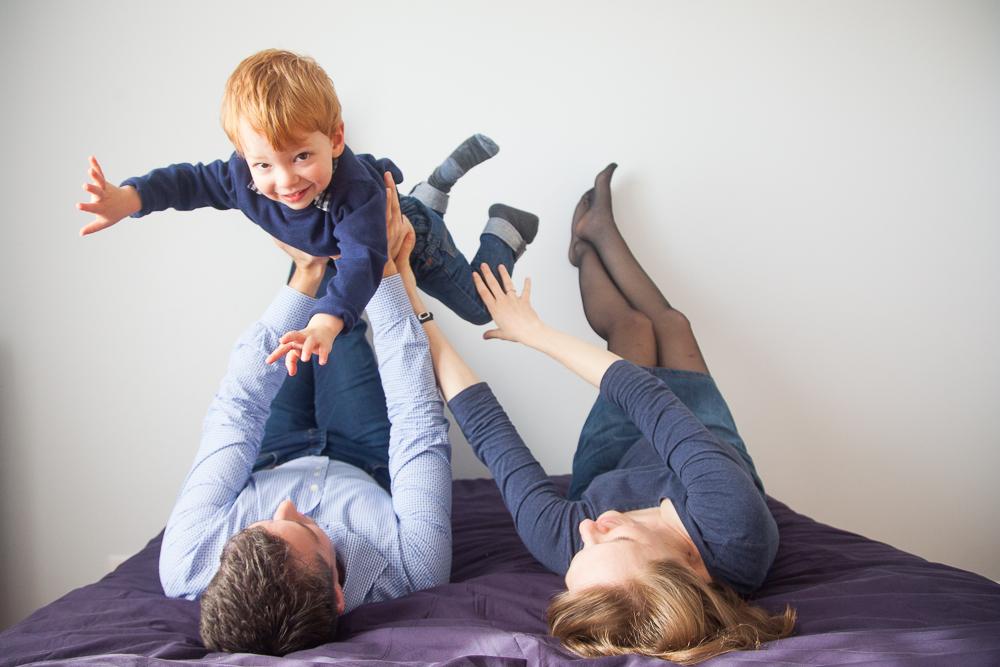 Photographe famille à domicile Conflans Ste Honorine - Yvelines