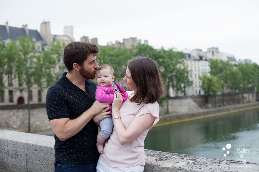 Family photoshoot - River Seine Paris