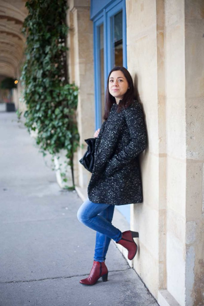 Paris photoshoot Marais district - place des Vosges