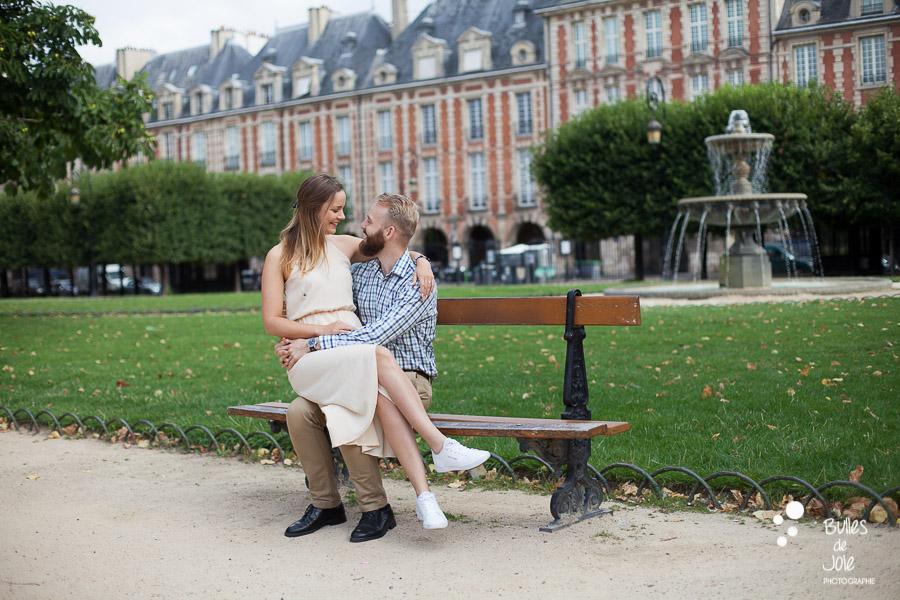Paris photoshoot Marais district