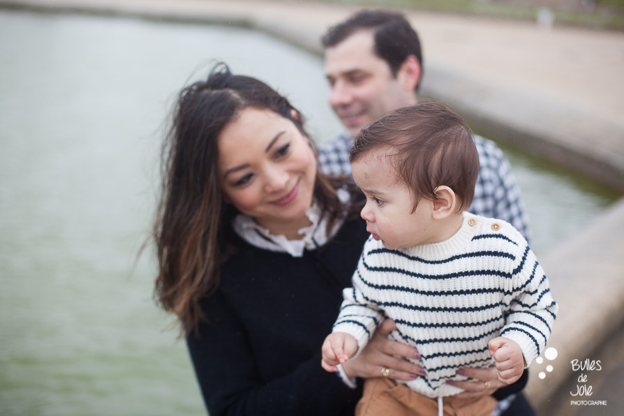 Paris family photoshoot Luxembourg gardens - Paris, France by Bulles de Joie, Paris photographer specialised in families