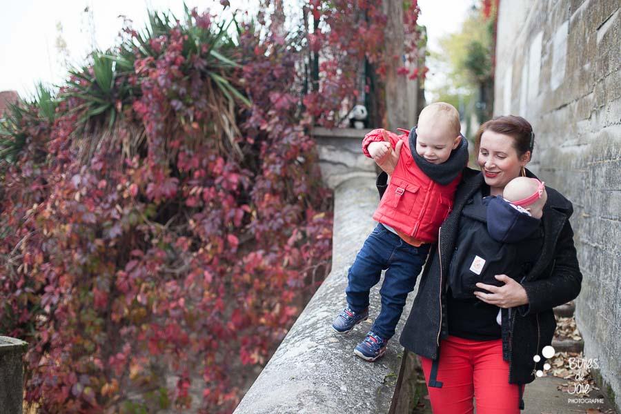Séance photo en famille avec les jolies couleurs de l'Automne -Yvelines