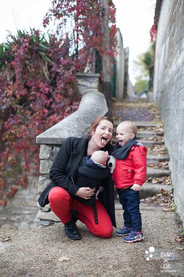 Séance photo en famille Yvelines - photographe Conflans Ste Honorine