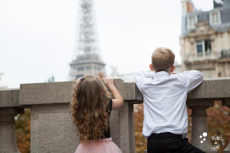 Séance photo famille Tour Eiffel