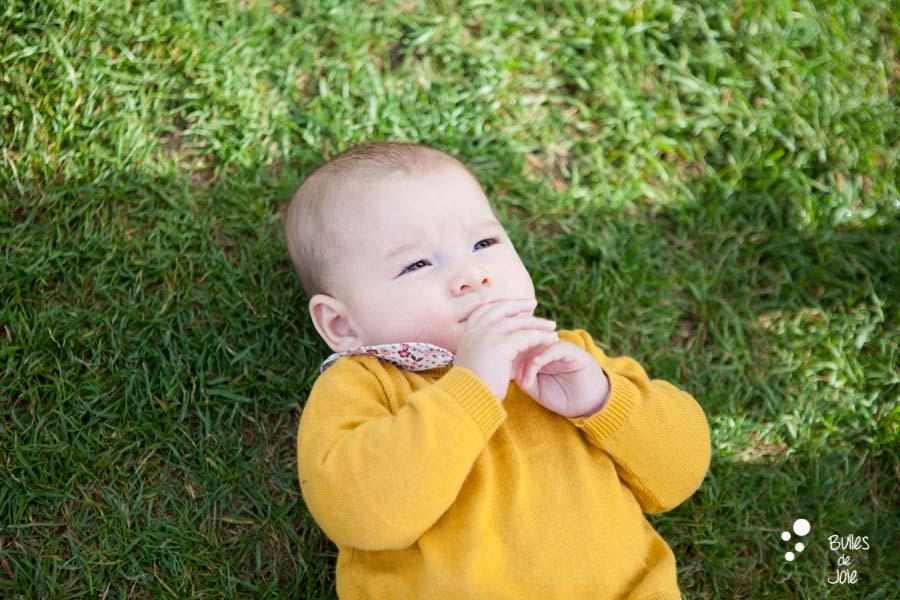 Photos d'enfant 4 mois | photographe bébé