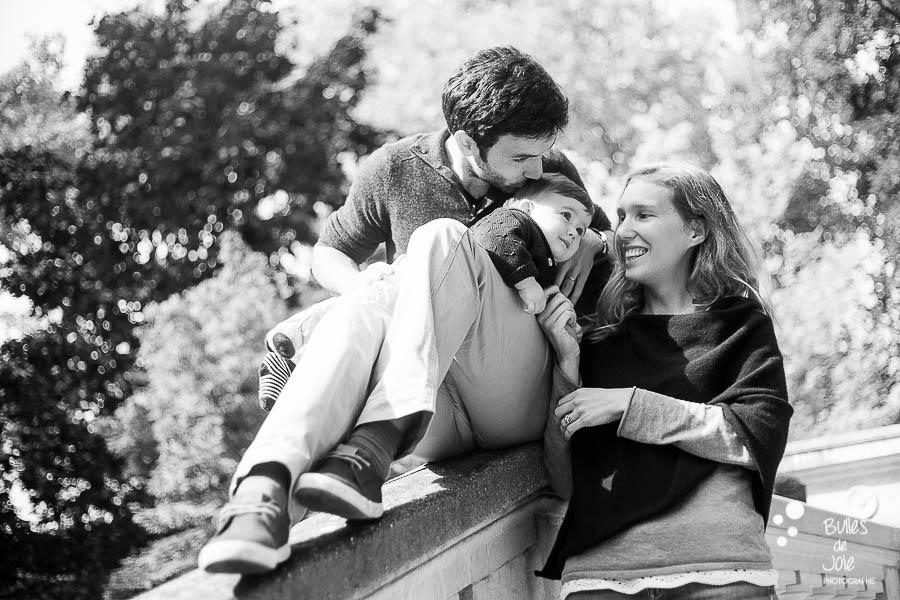 Photo famille complice - Parc Monceau Paris 17