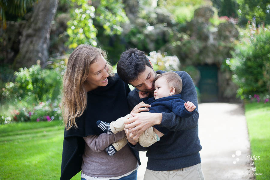 Séance photo famille au Parc Monceau