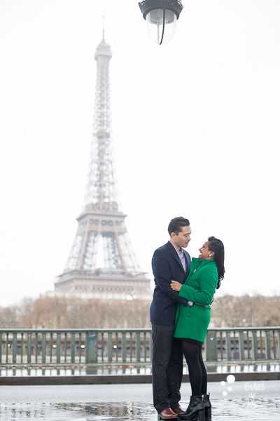 Love session in Prais, Eiffel Tower